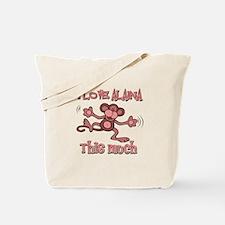 I love Alaina Tote Bag