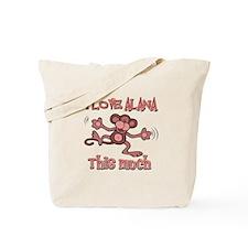 I love Alana Tote Bag