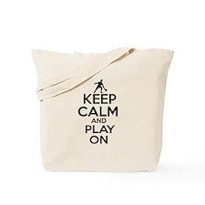 Keep calm and play Ping Pong Tote Bag