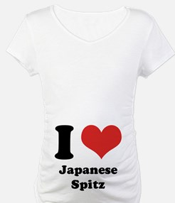 I Heart Japanese Spitz Shirt