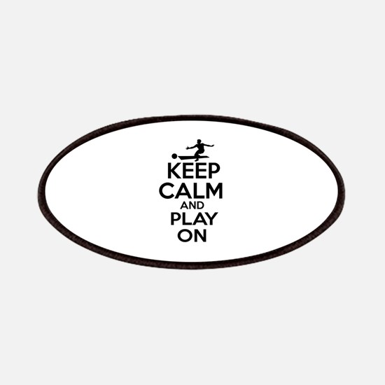 Keep calm and play Bowl Patches