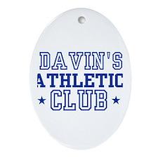 Davin Oval Ornament