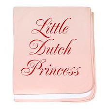 Little Dutch Princess baby blanket