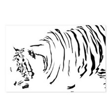 Stealthy Tiger Postcards (Package of 8)