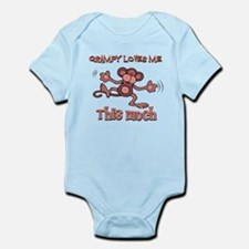 Grampy loves me this much Infant Bodysuit