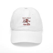 Grampy loves me this much Baseball Cap