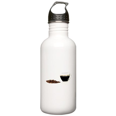 Coffee and beans Water Bottle