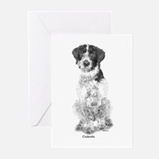 German Wire Haired Pointer Greeting Cards (Package