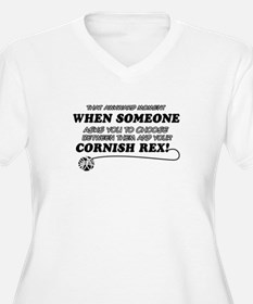 Cornish Rex cat gifts T-Shirt