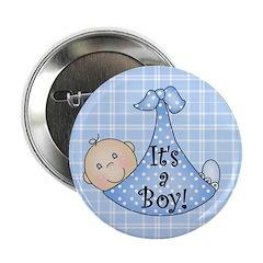 It's a Boy (White) 2.25