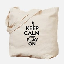 Keep calm and play Squach Tote Bag