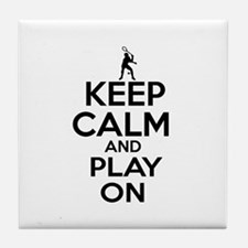 Keep calm and play Squach Tile Coaster