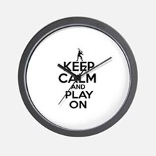 Keep calm and play Squach Wall Clock