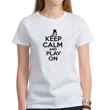 Keep calm and play Curl Tee