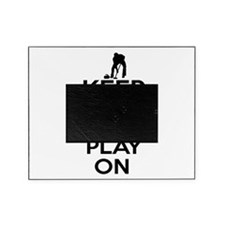 Keep calm and play Curl Picture Frame