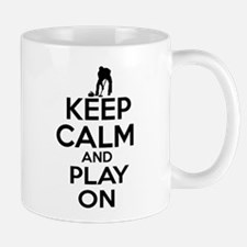 Keep calm and play Curl Mug
