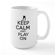 Keep calm and play Curl Mug