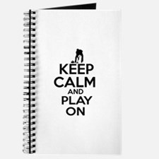 Keep calm and play Curl Journal