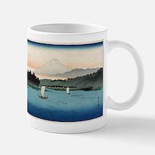 Fukeiga 4 - Hiroshige Ando - 1858 - woodcut Mug