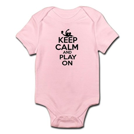 Keep calm and play Water Polo Infant Bodysuit