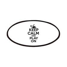 Keep calm and play Water Polo Patches