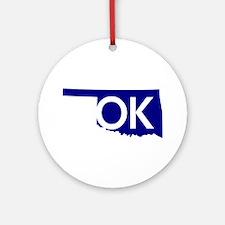 OK Ornament (Round)