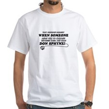 Don sphynx Rex cat gifts Shirt