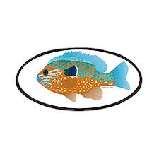 Longear Sunfish fish 2 Patches