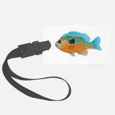 Longear Sunfish fish 2 Luggage Tag