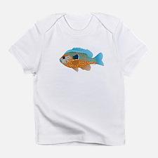 Longear Sunfish fish 2 Infant T-Shirt