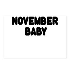 NOVEMBER BABY Postcards (Package of 8)