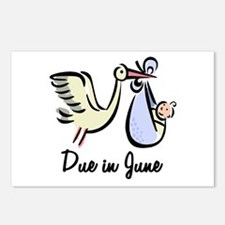 Due In June Stork Postcards (Package of 8)