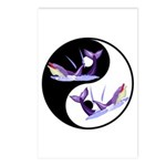 Yin Yang Dolphins Postcards (Package of 8)