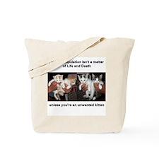 Pet Overpop-Light Tote Bag