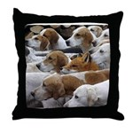 The Foxed Throw Pillow