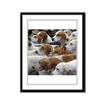The Foxed Framed Panel Print