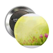 "Tulips 2.25"" Button (10 pack)"