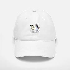 Due In October Stork Baseball Baseball Cap