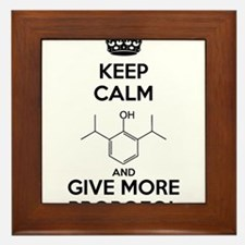 Keep Calm and give more Propofol Framed Tile