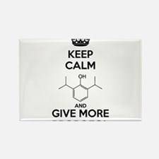 Keep Calm and give more Propofol Rectangle Magnet