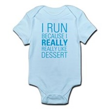 I RUN FOR DESSERT Body Suit