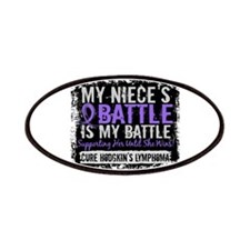 My Battle Too 2 H Lymphoma Patches