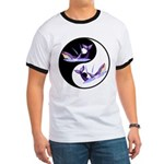 Yin Yang Dolphins Ringer T
