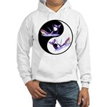Yin Yang Dolphins Hooded Sweatshirt