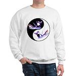 Yin Yang Dolphins Sweatshirt