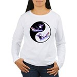 Yin Yang Dolphins Women's Long Sleeve T-Shirt