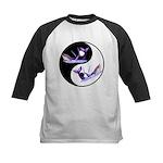 Yin Yang Dolphins Kids Baseball Jersey
