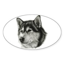 The Alaskan Malamute Decal