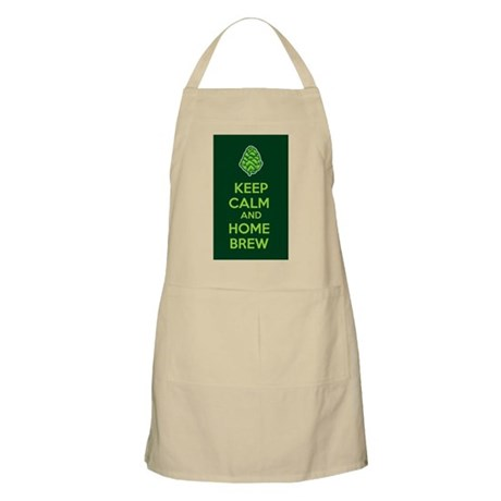 Keep Calm and Home Brew Apron