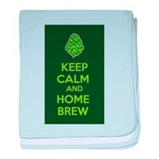 Keep Calm and Home Brew baby blanket